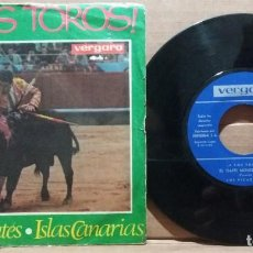 Discos de vinilo: LOS PICADORES / A LOS TOROS / SINGLE 7 INCH. Lote 223107477