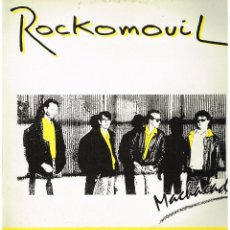 Discos de vinilo: ROCKOMOVIL - MACHACADO / MODELOS / NO LO DUDES - MAXI SINGLE 1988. Lote 223110621