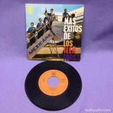 Discos de vinilo: SINGLE MEXICANA -- MAS ÉXITOS DE LOS TEEN TOPS -- VG. Lote 223113595
