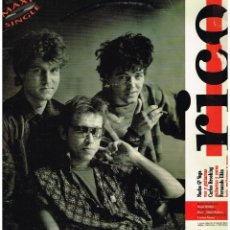 Discos de vinilo: RICO - DESCARO (3 ERSIONES) - MAXISINGLE 1990. Lote 223120073