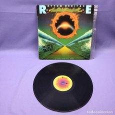 Discos de vinilo: LP RHYTHM HERITAGE -- LA ÚLTIMA NOCHE EN LA TIERRA -- CONTIENE EL TEMA DE ROCKY -- SPAIN 1977 -- VG+. Lote 223121413