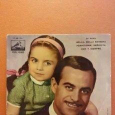 Discos de vinilo: ROSA MARY Y JOSE GUARDIOLA - DI PAPA / BELLA BELLA BAMBINA / PERMITIDME SEÑORITA +1 - EP 1962. Lote 223126172
