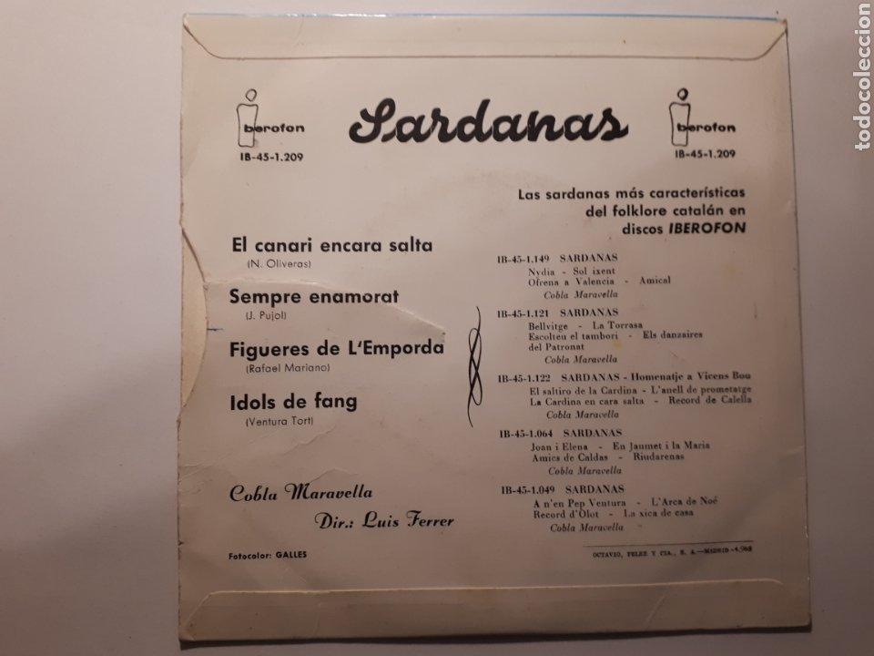 Discos de vinilo: SARDANES. COBLA MARAVELLA. MAXI SINGLE - Foto 2 - 223127636