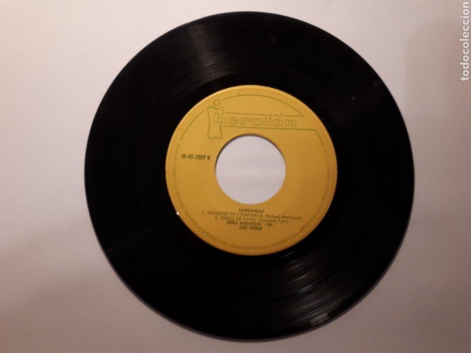 Discos de vinilo: SARDANES. COBLA MARAVELLA. MAXI SINGLE - Foto 4 - 223127636