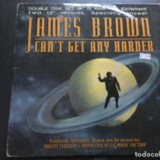Discos de vinilo: JAMES BROWN = CANT GET ANY HARDER . USA. Lote 223128240