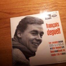 Discos de vinilo: DISCO DE VINILO MAXI SINGLE DE FRACOIS DEGUELT ( LES FEMMES). Lote 223130195