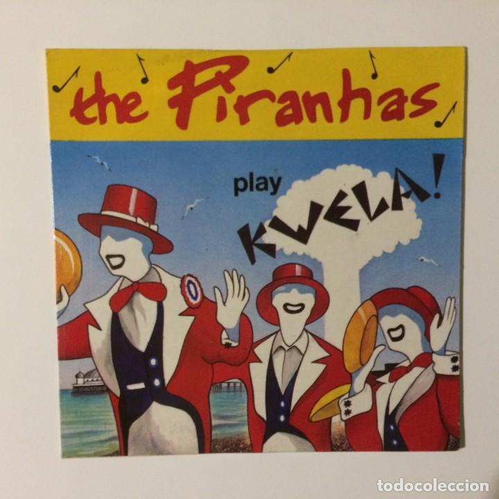 THE PIRANHAS – PLAY KWELA! UK 1980 (Música - Discos de Vinilo - EPs - Reggae - Ska)