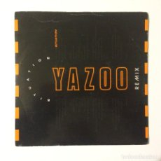 Discos de vinilo: YAZOO – SITUATION (REMIX) / STATE FARM (MADHOUSE MIX - EDIT) UK 1990. Lote 223153465