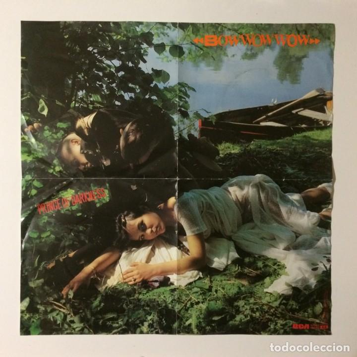 Discos de vinilo: Bow Wow Wow – Prince Of Darkness / Orangutang UK 1981 - Foto 4 - 223156833