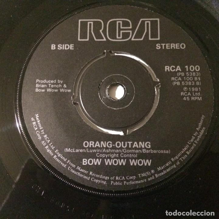 Discos de vinilo: Bow Wow Wow – Prince Of Darkness / Orangutang UK 1981 - Foto 6 - 223156833