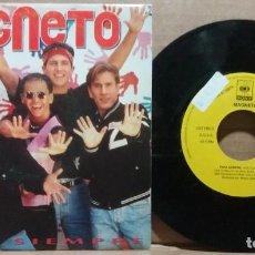 Disques de vinyle: MAGNETO / PARA SIEMPRE / SINGLE 7 INCH. Lote 223200392