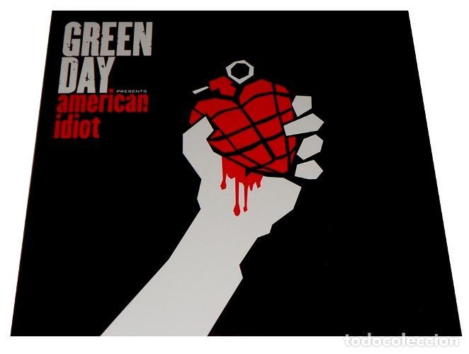 V1224 - GREEN DAY. AMERICAN IDIOT. DOBLE LP VINILO (Música - Discos - LP Vinilo - Punk - Hard Core)