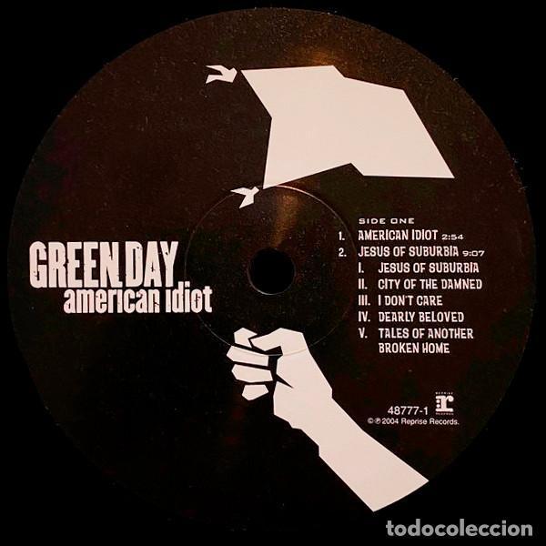 Discos de vinilo: V1224 - GREEN DAY. AMERICAN IDIOT. DOBLE LP VINILO - Foto 3 - 223207648