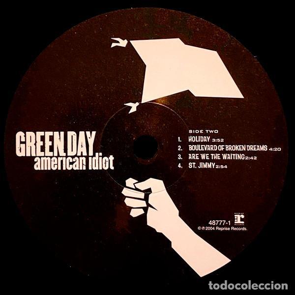 Discos de vinilo: V1224 - GREEN DAY. AMERICAN IDIOT. DOBLE LP VINILO - Foto 4 - 223207648