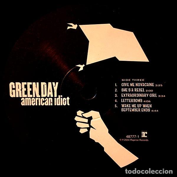 Discos de vinilo: V1224 - GREEN DAY. AMERICAN IDIOT. DOBLE LP VINILO - Foto 5 - 223207648