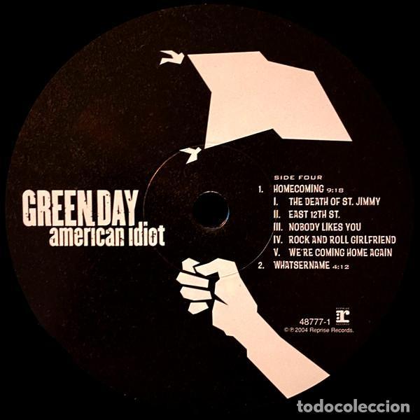 Discos de vinilo: V1224 - GREEN DAY. AMERICAN IDIOT. DOBLE LP VINILO - Foto 6 - 223207648