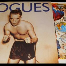Discos de vinilo: V1101 - POGUES. PEACE AND LOVE. LP VINILO. Lote 223210487