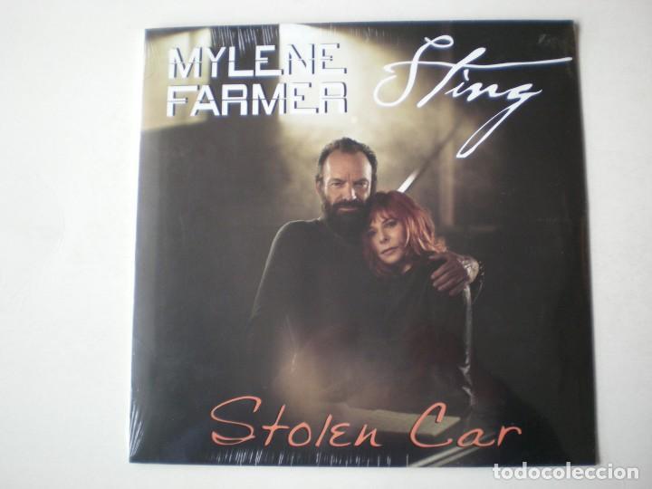 MYLENE FARMER Y STING - STOLEN CAR MAXISINGLE EDITADO EN FRANCIA - PRECINTADO (Música - Discos de Vinilo - Maxi Singles - Canción Francesa e Italiana)