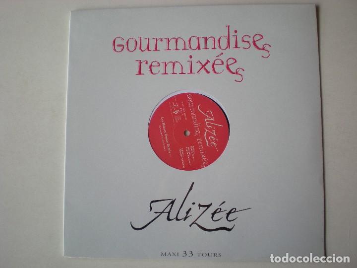 ALIZEE - GOURMANDISES MAXI SINGLE EDITADO EN FRANCIA. PRECINTADO. (Música - Discos de Vinilo - Maxi Singles - Canción Francesa e Italiana)