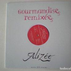 Discos de vinilo: ALIZEE - GOURMANDISES MAXI SINGLE EDITADO EN FRANCIA. PRECINTADO.. Lote 223210896