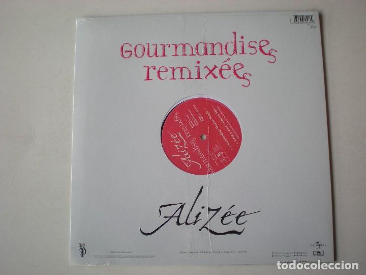 Discos de vinilo: ALIZEE - GOURMANDISES MAXI SINGLE EDITADO EN FRANCIA. PRECINTADO. - Foto 2 - 223210896