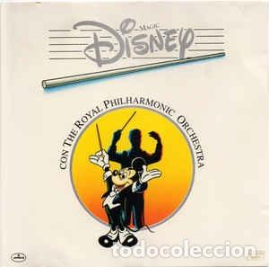 Discos de vinilo: VARIOS - MAGIC DISNEY CON THE ROYAL PHILHARMONIC ORCHESTRA - 12 SINGLE - AÑO 1986 - Foto 1 - 223218352
