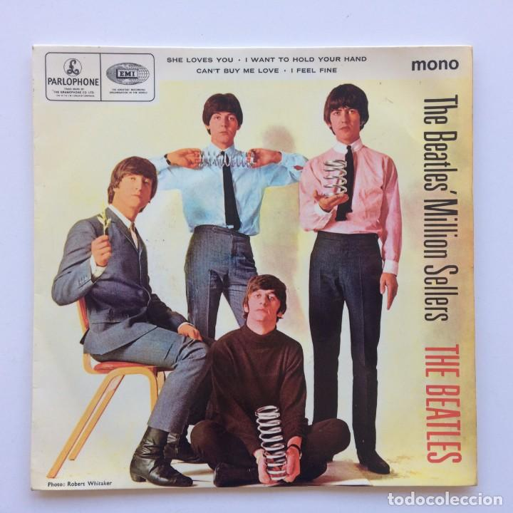 THE BEATLES – THE BEATLES' MILLION SELLERS EP45 UK 1978 (Música - Discos de Vinilo - EPs - Pop - Rock Internacional de los 70)
