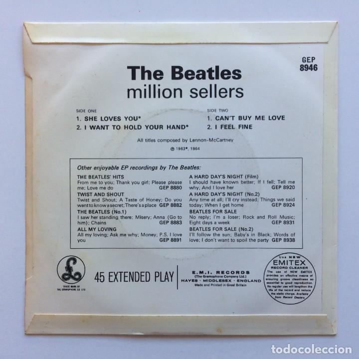Discos de vinilo: The Beatles – The Beatles Million Sellers EP45 UK 1978 - Foto 2 - 223219371