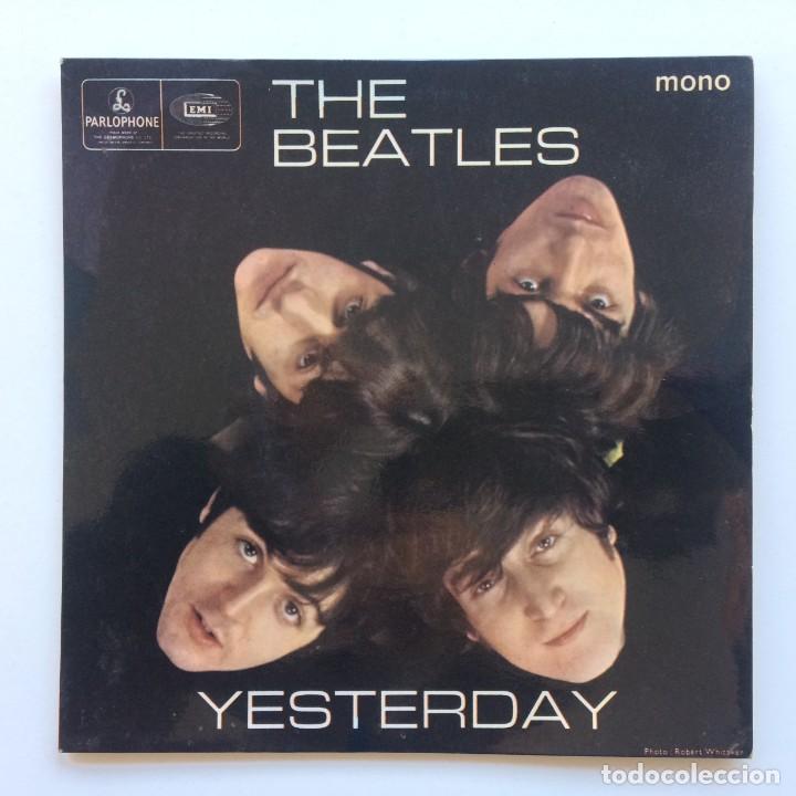 THE BEATLES – YESTERDAY EP45 UK (Música - Discos de Vinilo - EPs - Pop - Rock Internacional de los 70)