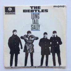 Discos de vinilo: THE BEATLES – LONG TALL SALLY EP45 UK 1969. Lote 223222612