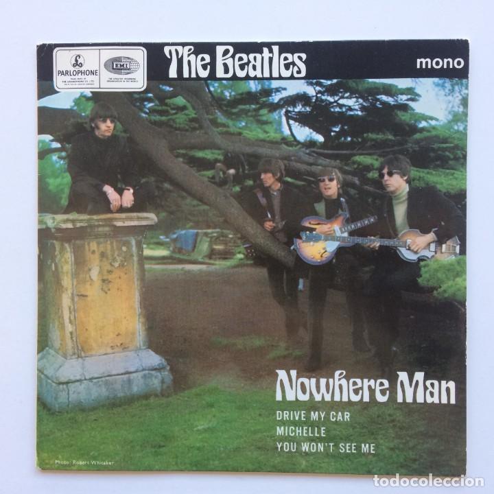 THE BEATLES – NOWHERE MAN EP45 UK 1981 (Música - Discos de Vinilo - EPs - Pop - Rock Internacional de los 70)