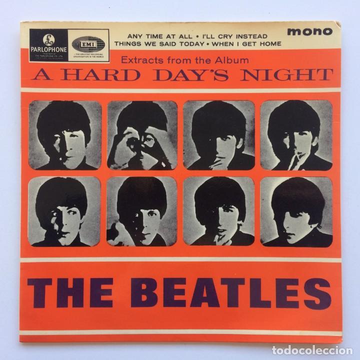 THE BEATLES – EXTRACTS FROM THE ALBUM A HARD DAY'S NIGHT EP45 UK 1978 (Música - Discos de Vinilo - EPs - Pop - Rock Internacional de los 70)