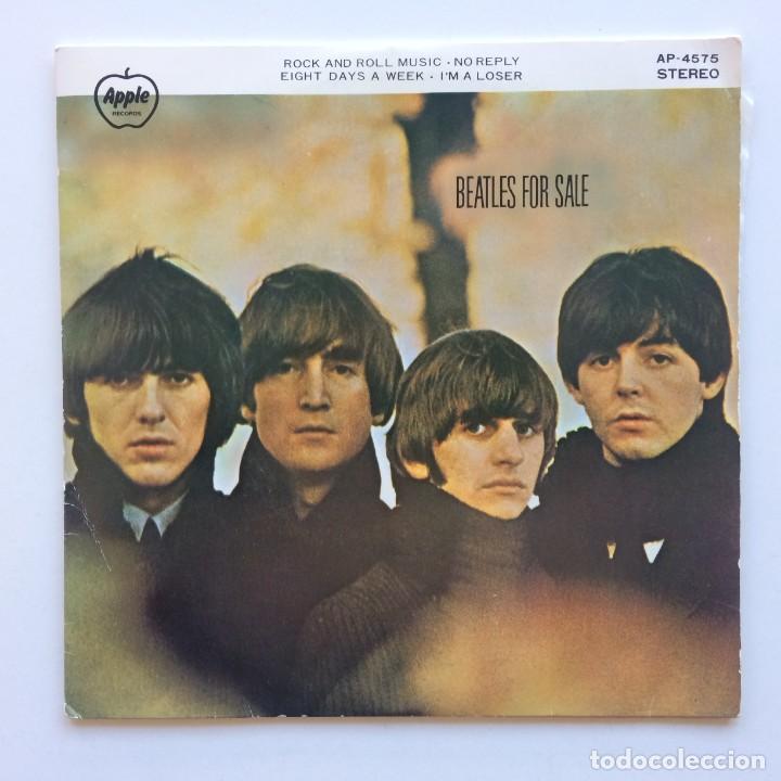 THE BEATLES – BEATLES FOR SALE EP45 JAPON 1973 (Música - Discos de Vinilo - EPs - Pop - Rock Internacional de los 70)