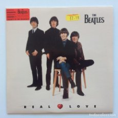 Discos de vinilo: THE BEATLES – REAL LOVE / BABY'S IN BLACK EUROPE 1996. Lote 223230541