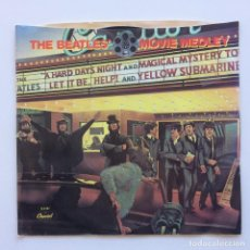 Discos de vinilo: THE BEATLES ‎– THE BEATLES' MOVIE MEDLEY USA 1982. Lote 223230967