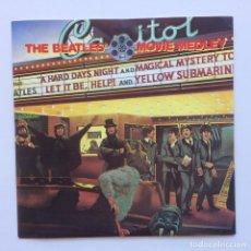 Discos de vinilo: THE BEATLES – THE BEATLES' MOVIE MEDLEY UK 1982. Lote 223231366