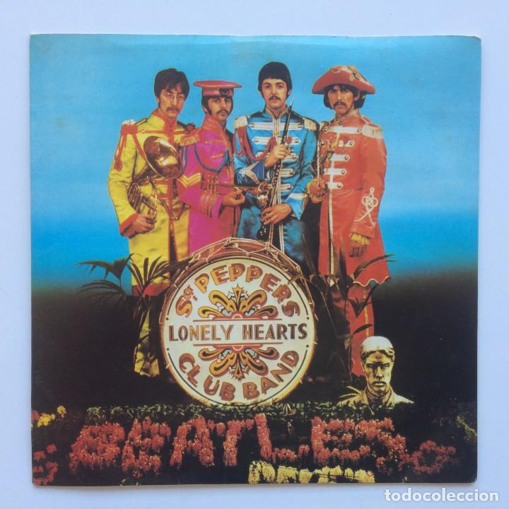 Discos de vinilo: The Beatles – Sgt. Peppers Lonely Hearts Club Band EP45 UK 1978 - Foto 1 - 223231652