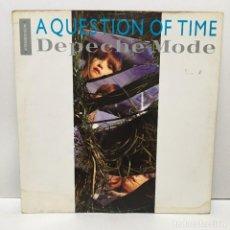 Discos de vinilo: DEPECHE MODE ?– A QUESTION OF TIME (EXTENDED REMIX) - 1986. Lote 223239932