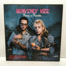 Discos de vinilo: FRANZ AND FRANKIE ‎– HEAVENLY VICE - 1986. Lote 223240952