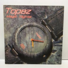 Discos de vinilo: TOPAZ ?– MAGIC NIGHTS - 1986. Lote 223244700