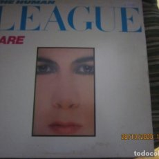 Discos de vinilo: THE HUMAN LEAGUE - DARE LP - ORIGINAL INGLES - VIRGIN RECORDS 1981 CON FUNDA INT. ORIGINAL. Lote 223252066