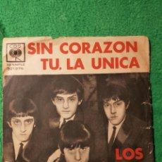 Discos de vinilo: LOS BUHOS :POP ROCK SINGLE ORIGINAL ARGENTINA BEATLES STYLE OPORTUNIDAD COLECCIONISTAS. Lote 223256000