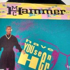Discos de vinilo: SINGLE (VINILO) DE M C HAMMER AÑOS 90. Lote 223265835
