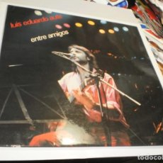 Discos de vinilo: LP DOBLE LUIS EDUARDO AUTE. ENTRE AMIGOS. MOVIE PLAY 1983 SPAIN CON INSERTOS (PROBADOS Y BIEN, LEER). Lote 223270310