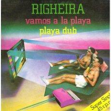 Dischi in vinile: RIGHEIRA - VAMOS A LA PLAYA / PLAYA DUB - MAXI SINGLE 1983. Lote 223271952
