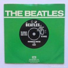 Discos de vinilo: THE BEATLES – PAPERBACK WRITER / RAIN UK 1976 PARLOPHONE. Lote 223278641