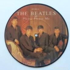Discos de vinilo: THE BEATLES – PLEASE PLEASE ME / ASK ME WHY LIMITED EDITION PICTURE UK 1983 PARLOPHONE. Lote 223281756