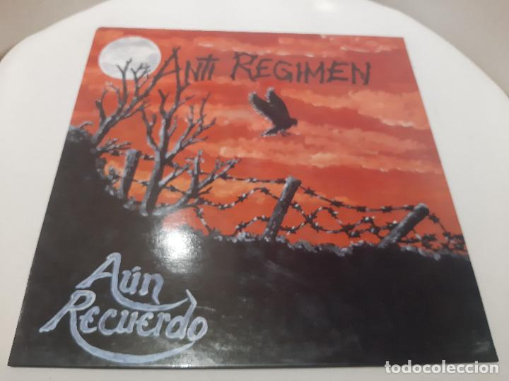 ANTI-REGIMEN -AÚN RECUERDO- (1990) LP DISCO VINILO (Música - Discos - LP Vinilo - Punk - Hard Core)