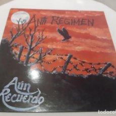 Disques de vinyle: ANTI-REGIMEN -AÚN RECUERDO- (1990) LP DISCO VINILO. Lote 223282051