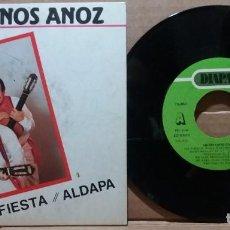 Discos de vinilo: HERMANOS ANOZ / DE FIESTA / SINGLE 7 INCH. Lote 223299328